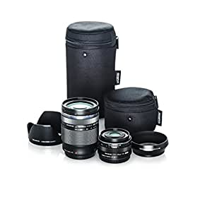 Olympus Travel Lens Kit (M.Zuiko 14-150mm f4.0-5.6 II and M.Zuiko 17mm f1.8 black lenses)