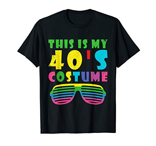 This is my 40's Costume 1940's Halloween Costume Gift Family ()
