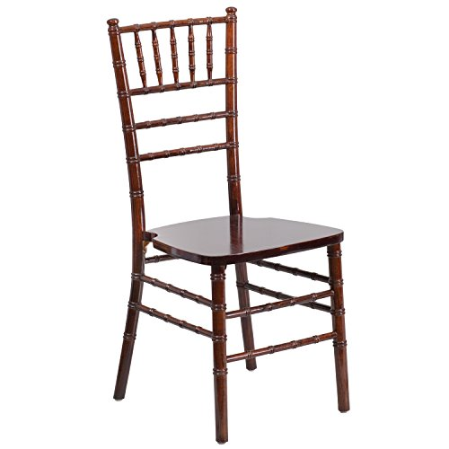 Flash Furniture HERCULES Series Fruitwood Chiavari Chair (Banquette Sale For)