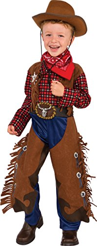 Rubie's Costume Child's Little Wrangler Costume, Medium, Multicolor -