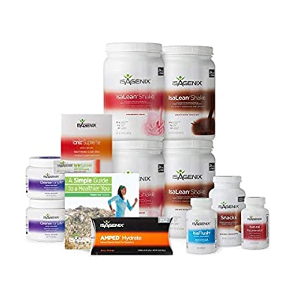 Image of Health and Household 30 Day Weight Loss System with 2 Creamy Strawberry, 2 Chocolate Shake