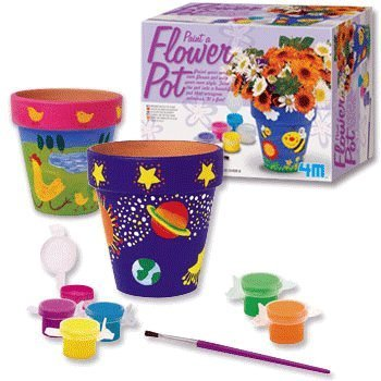 Paint Your Own Flower Pots Kit