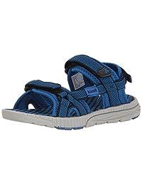 Kamik Boys' Match Sandal, Navy/Blue, 5 M US Toddler