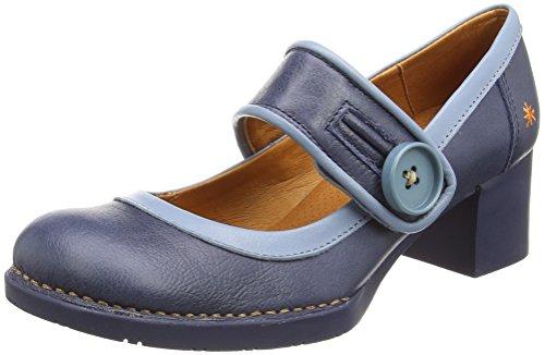 Bristol Blå blå Lukket Memphis tå Art 0089 Womens Hæle Høje HWvcv5Pq