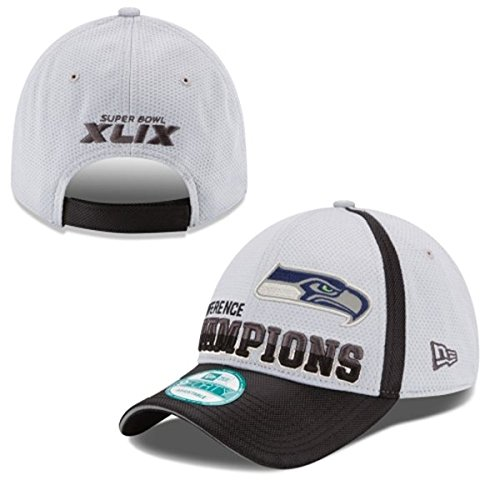 New Era 940 Seattle Seahawks Conference Champs Locker Room Hat (Seahawks Nfc Patch)