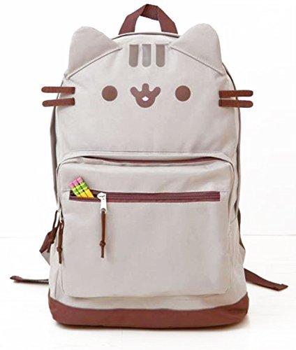 Pusheen Cat Face Backpack Standard (Standard Cat)