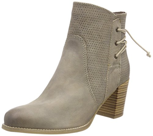 Tamaris Women's 25305 Ankle Boots, Blue Beige (Taupe 341)