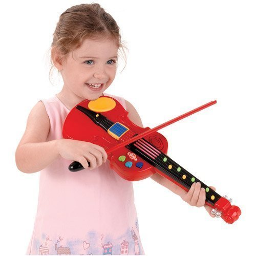 Fun Fiddle Violin toy w/ Three activity modes Seven built-in demo songs
