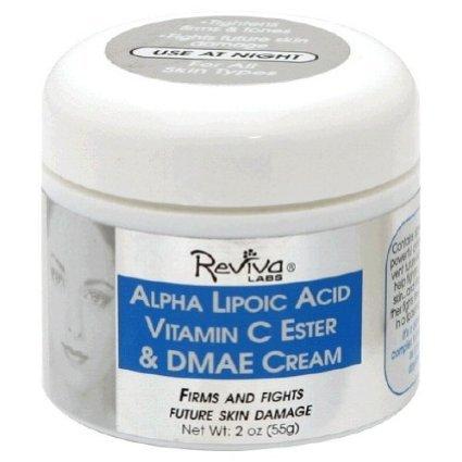 Alpha Night Cream w/DMAE & C 2 OZ by Reviva