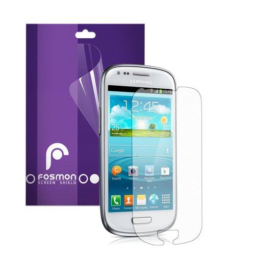 Fosmon Anti-Glare (Matte) Screen Protector Shield for Samsung Galaxy S3 III mini / - Protector I8190 Mini Screen