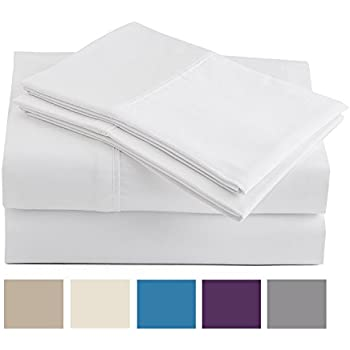 Inspirational Peru Pima 285 Thread Count Peruvian Pima Cotton Percale Bed Sheet Set King White Simple - Model Of percale bed sheets Top Search