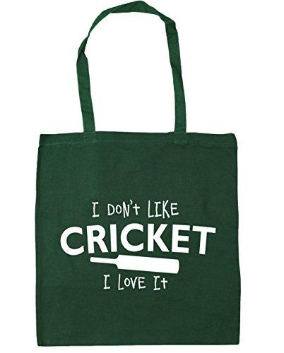 Bottle Bag it 10 I HippoWarehouse 42cm Don't Cricket Gym love Tote I Like Beach Shopping Green x38cm litres qa1PfUxY1