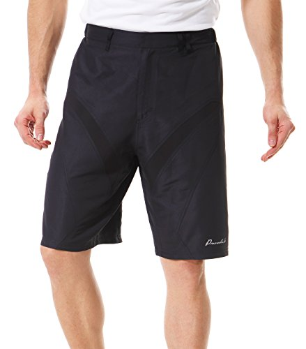 Przewalski Men's Mountain Bike MTB Shorts, Baggy Biking Cycling Shorts – with Removable Padded Underliner