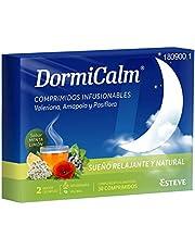 DORMICALM Kosttillskott med balerian, passion och Kalifornien vallmoblomma. 30 tabletter avkoppling och naturlig sömn.