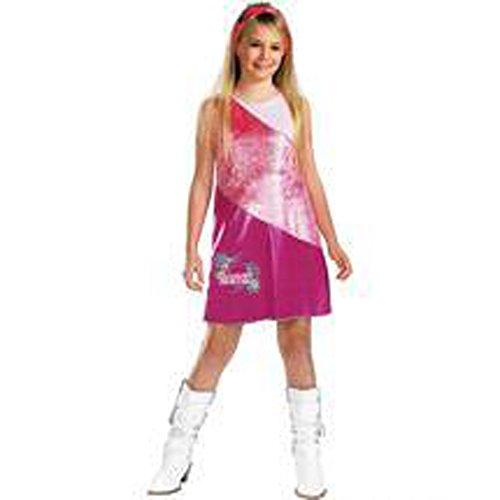Hannah Montana Pink Dress Diva Costume 4-6x (Hannah Montana Fancy Dress Costume)