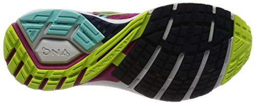 Veryberry Zapatillas Limepunch Multicolor Aquasplash 8 Mujer Brooks para Gimnasia Ravenna de T6wnA8U