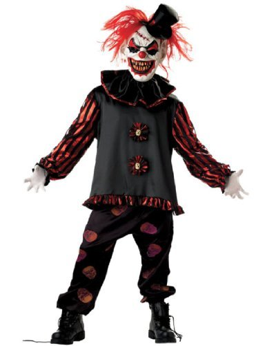 Carver The Clown Child Costume (Carver The Clown Child Costume Size 12-14 by Morris)
