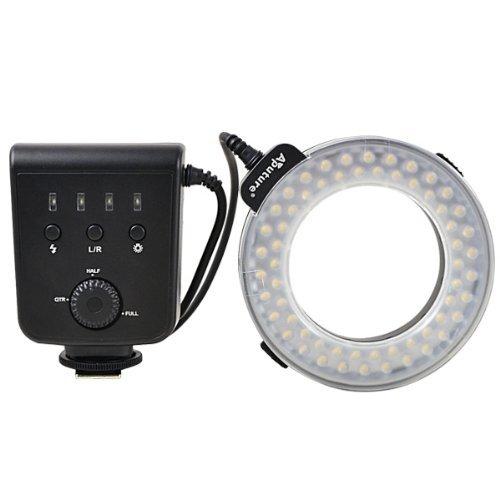 [MENGS] AHL-HC100 LEDマクロリングフラッシュライト Canon DSLRカメラ用の商品画像