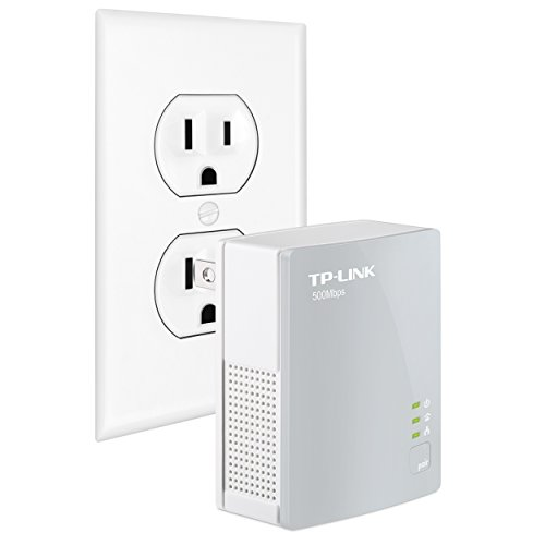 TP-Link AV500 Nano Powerline Adapter, up to 500Mbps (TL-PA4010)