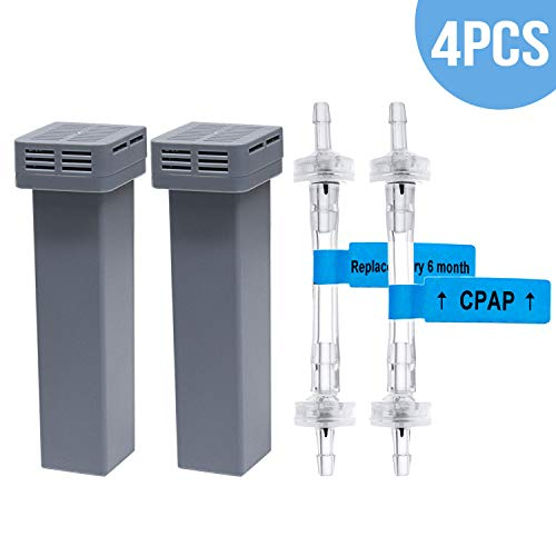 - Cartridge Filter Kit 4 Packs - Includes 2 Cartridge Filters with 2 Check Valves - Generic Cartridge Carbon Filter Kit Supplies by Medihealer