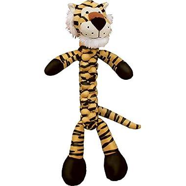 KONG BraidZ Tiger Dog Toy, Large
