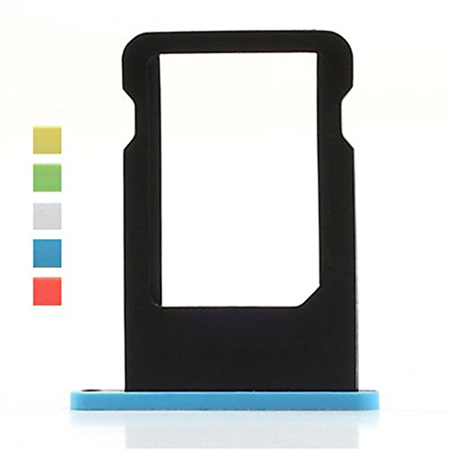 SIM Card Tray for iPhone 5C (Blue) - 4