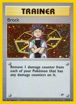 (Pokemon - Brock (15/132) - Gym Heroes - Holo)