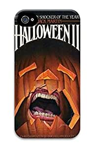 iPhone 4S Cases VUTTOO Halloween Ii Novel Polycarbonate Hard Case Back Cover for iPhone 4S