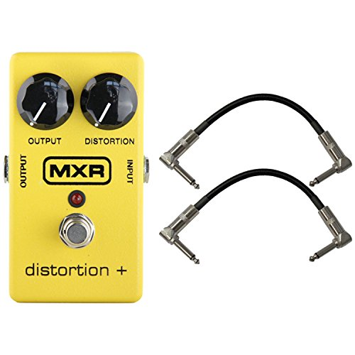 MXR M104 Distortion Pedal w/ Patch Cables
