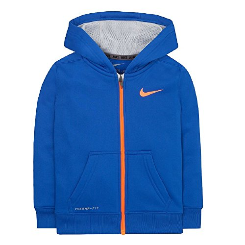 Nike Boys Toddler KO 2.0 F/Z Hoodie Neon Colors 76A314 (2...