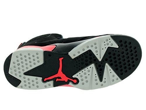 Nike Jordan 6 Retro BP, Zapatillas de Deporte para Niños Negro / Rojo / Negro (Black / Infrared 23-Black)