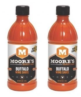 Moore Sauce Wing Buffalo 16 oz (Pack of 2)