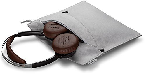 Plantronics 202649-01 Backbeat Sense Stereo Bluetooth Wireless Headphones - Black/Espresso