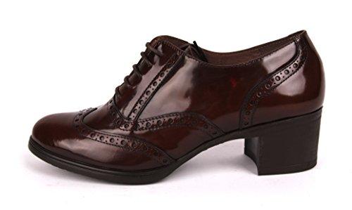 Vraagt zich Af Budapester Schoenen G-40102 Abraspot Marron - Bruin