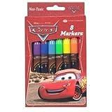 Disney Pixar Cars Mcqueen Markers - 8pcs Marker set