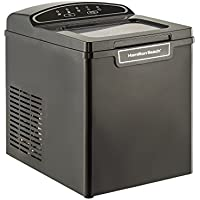 Hamilton Beach PIM-1-3A Portable Ice Maker, 26 lb. Capacity, Black