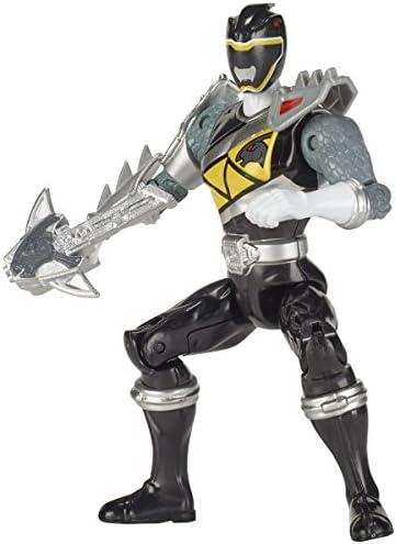 Power Rangers Figurine Dino Super charge 12 cm - Ranger noir mode dino