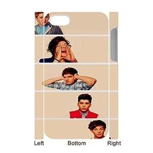 One Direction CUSTOM 3D Hard Case for iPhone 4,4S LMc-67898 at WANGJING JINDA
