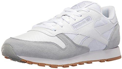 Reebok Kvinder Cl Læder Spp Mode Sneaker Hvid / Sky Grå / Sort arcKWFjI