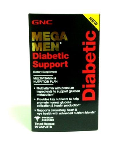Gnc Mega Men 90caps Диабетическая Поддержка