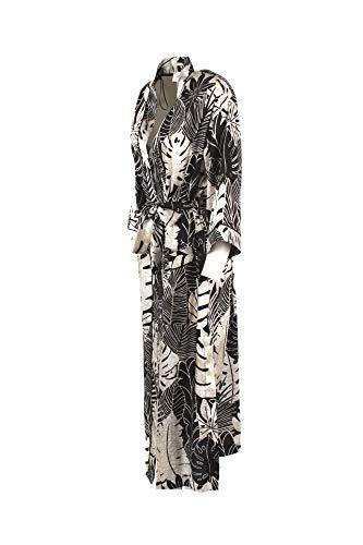 Donna 2018 Estate Tc2663 nero Kimono Beige Vicolo Primavera Bxp744
