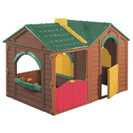 Keter M293170 - Caseta infantil garden villa