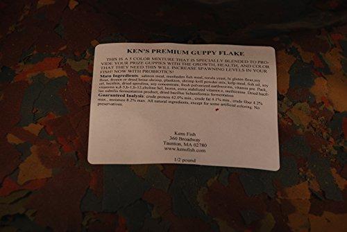 1 Lb. Ken's Premium Guppy Flake
