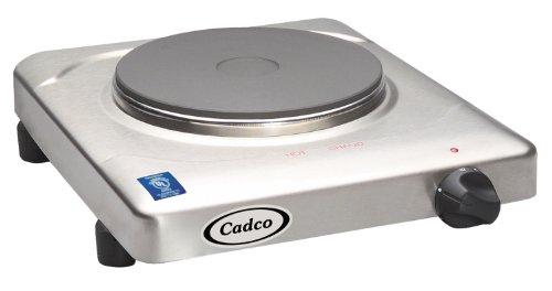 Cadco KR-S2 Portable Cast Iron 120-Volt Hot Plate