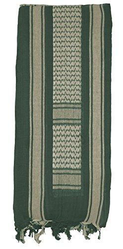 Mato & Hash Military Jumbo Shemagh Tactical Desert 100% Cotton Keffiyeh Scarf Wrap- Foliage (Shemagh Foliage)