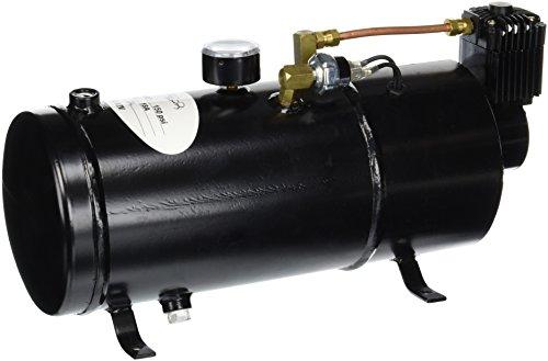 Spec-D Tuning AH-CMP0015 12 Volt 150PSI Air Compressor / 0.8 Gallon Tank Pump for Air Horns Pickup Truck