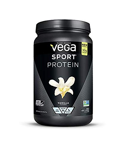 Vega Sport Protein Powder, Vanilla, 20.4 oz (Pack of 2)