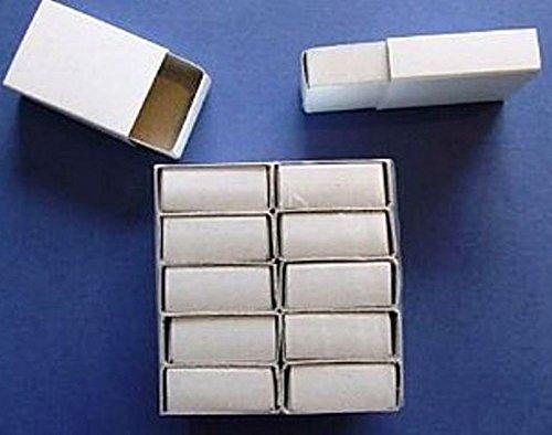 24 Plain White Empty Matchboxes for Crafts | Papier Mache Shapes