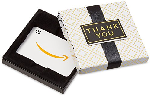 Amazon.com $25 Gift Card in a Thank You Box (Thank You Gift)