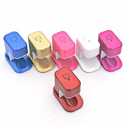 CYNDIE Portable Mini USB Charging Single Finger Nail Phototherapy Lamp Light DIY Gel Nail Polish Nail Art Tool